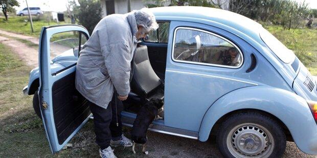 1 Mio. für VW Käfer von Uru-Präsident