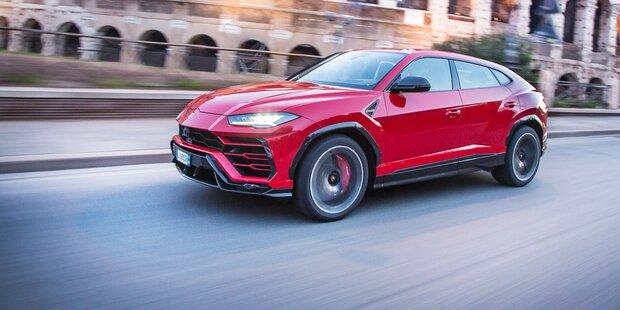 Lamborghini-SUV Urus ist ein Bestseller