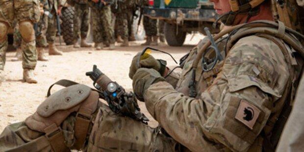 Selbstmordrate in US-Armee nimmt zu
