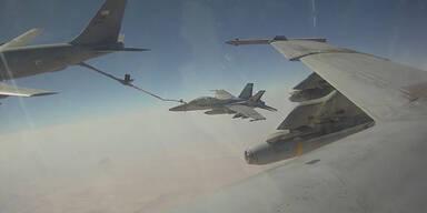 USA setzen Luftangriffe auf Terrormiliz fort