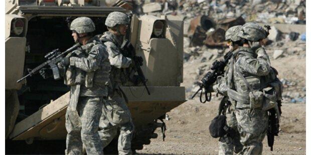 US-Truppen töten 350 Bewaffnete