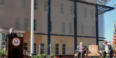 Größte und teuerste US-Botschaft steht in Bagdad