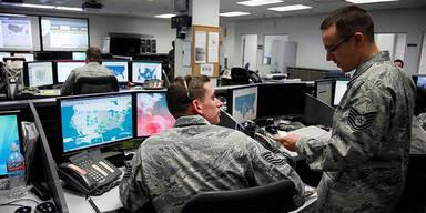 US Air Force Computerstützpunkt