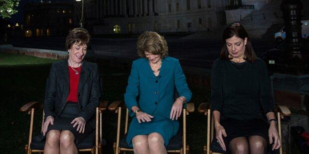Frauen retten USA vor Pleite-GAU...