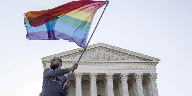 Ehe-Recht für Homosexuelle in USA