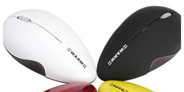 Neue USB-Maus mit Wärmefunktion