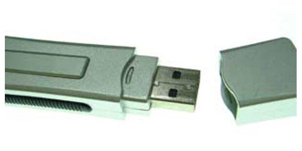 USB-Stick mit geheimen Armeedaten liegengelassen