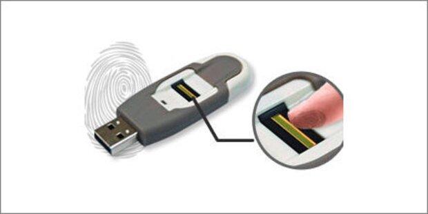 USB-Stick mit Fingerabdruck-Sensor