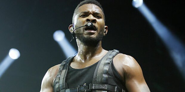 Usher: Peinlicher Auftritt und Abbruch