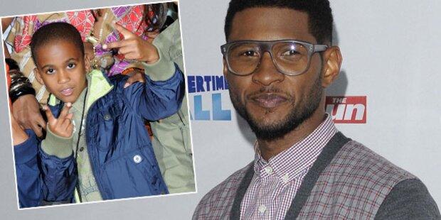 Usher: Trauer um Stiefsohn Kyle (11)