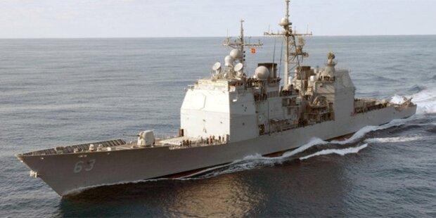Kriegsschiffe der USA und Chinas fast kollidiert