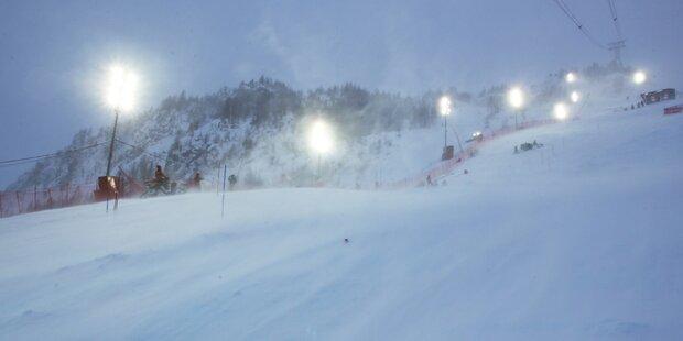 Herren-Slalom abgesagt