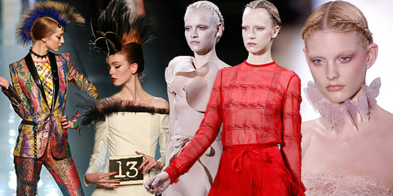 Punk und Nude meets Haute Couture