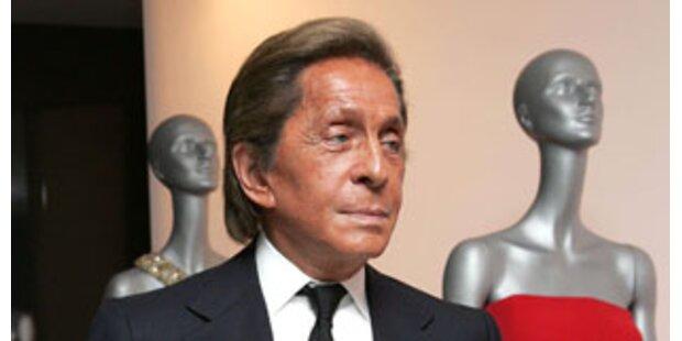 Valentino vermisst den ''Blick für die Frau''