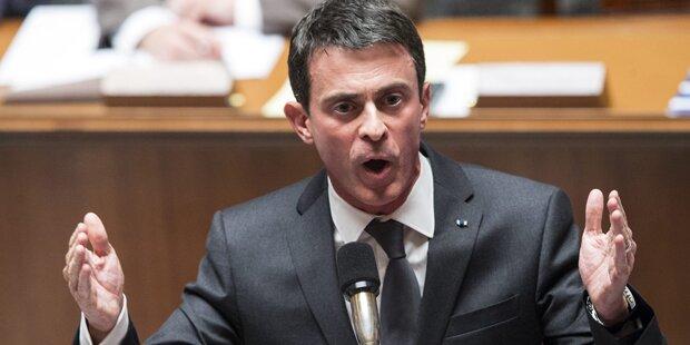 Frankreichs Premier warnt vor