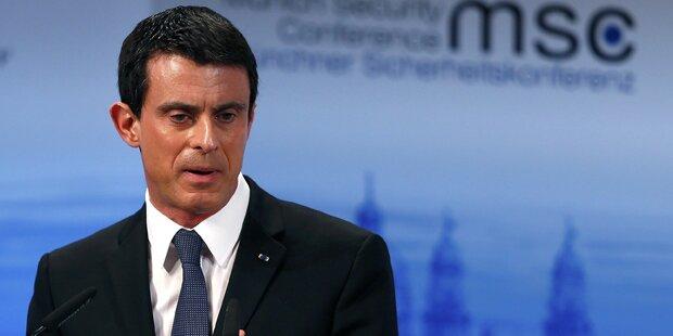 Hamon und Valls liegen bei Vorwahl der französischen Linken vorne