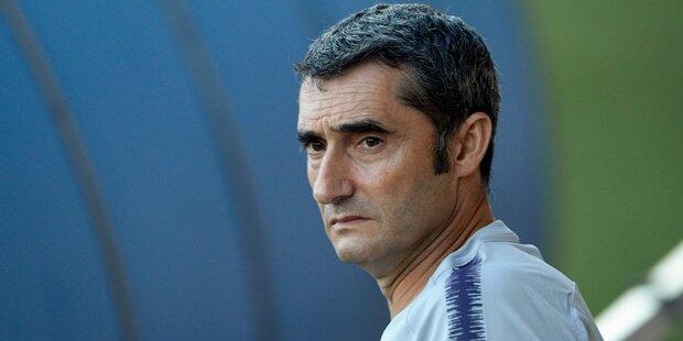 Barca setzt trotz Cupfinal-Pleite weiter auf Valverde