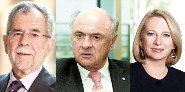 Hofburg-Wahl spannend wie nie