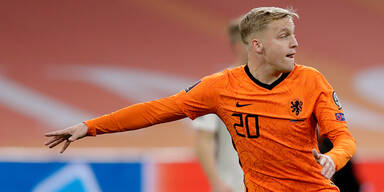 EM-Aus für Niederländer Van de Beek