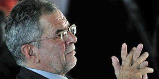 Van der Bellen: Einreisevebot für Gaddafi