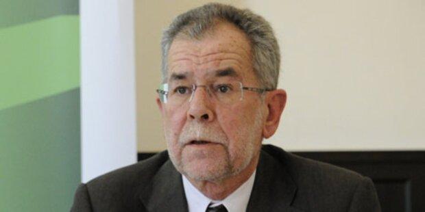 Van der Bellen bleibt im Nationalrat