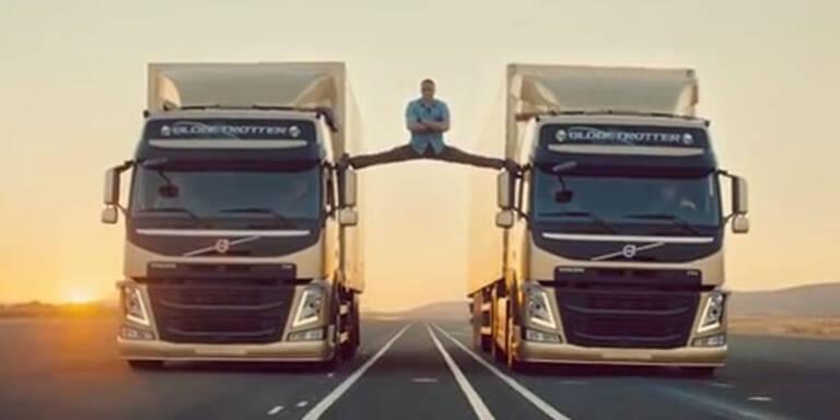 Van Damme begeistert in Volvo-Spot