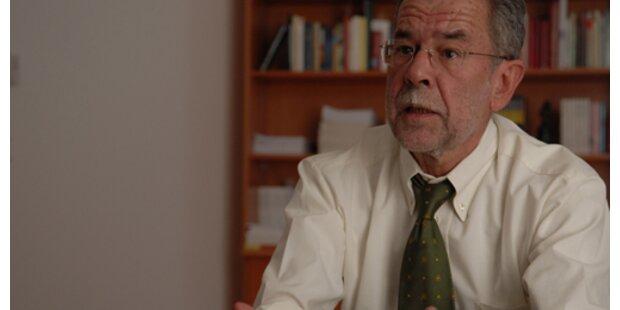 Van der Bellen stellt sich 2008 der Wiederwahl