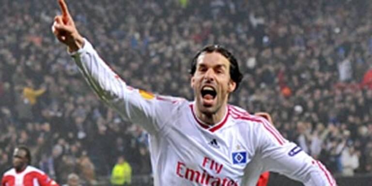 Van Nistelrooy schoss HSV zum Sieg