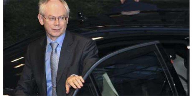 Van Rompuy sagte zweimal ab