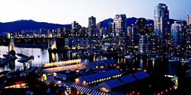 Vancouver ist Kanadas schönste Stadt