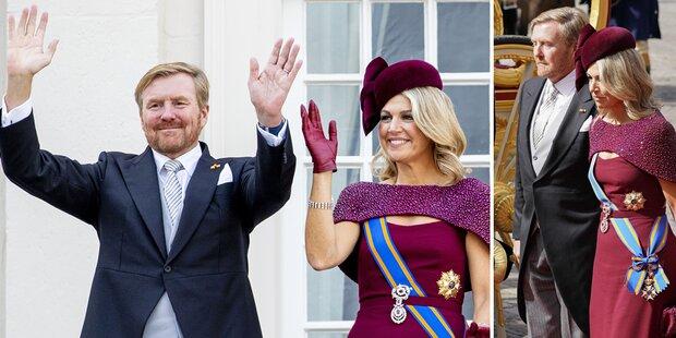 Willem-Alexander & Maxima: Alle sprechen über ein Detail
