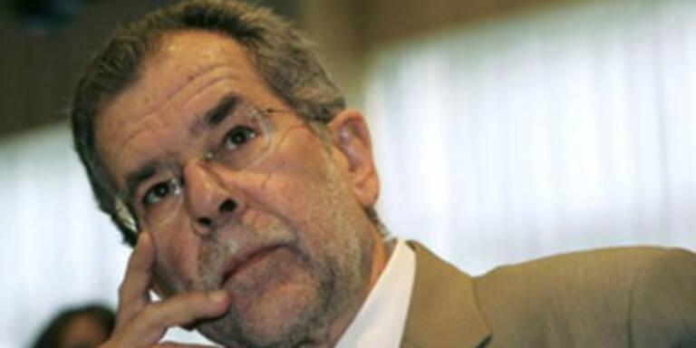 Van der Bellen wird wohl zum 6. Mal Grünen-Chef