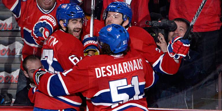 NHL: Vanek mit Assist bei Montreal-Sieg