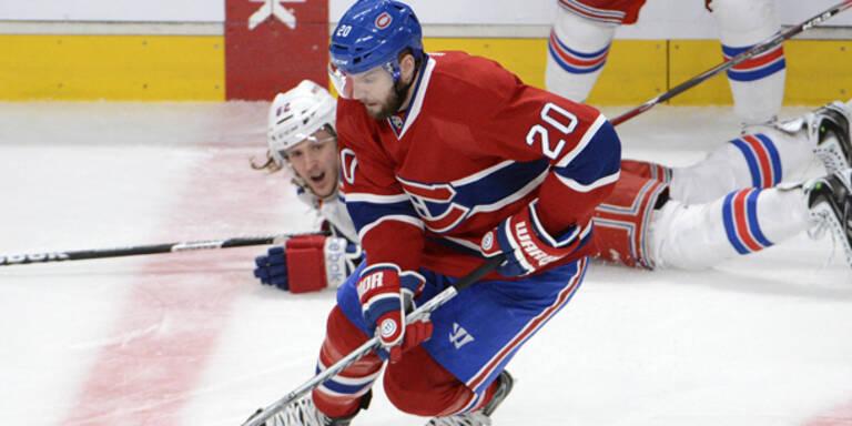 NHL: Vanek mit Canadiens gescheitert