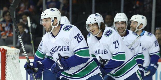 Vanek-Team Vancouver rang Toronto nieder