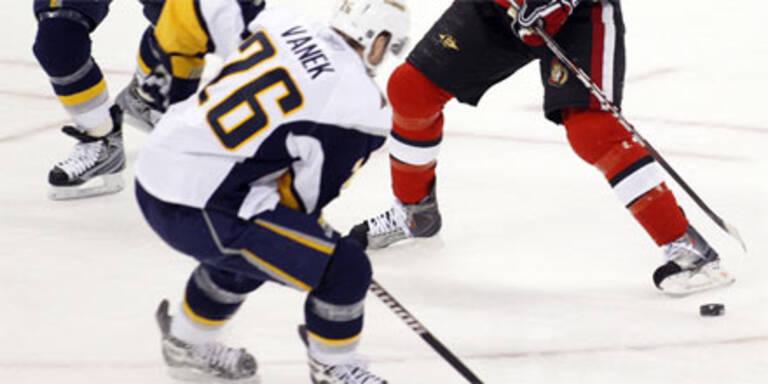 Vanek schießt vier Tore in Ottawa