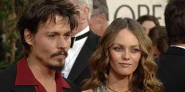 Traumpaar: Johnny Depp & Vaness Paradis