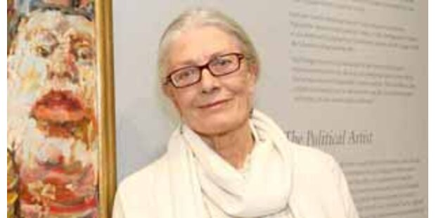Vanessa Redgrave besuchte die Wiener Albertina