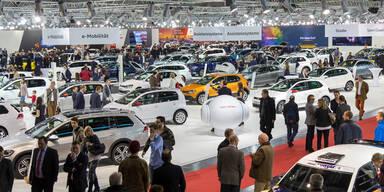 Vienna Autoshow 2017 war voller Erfolg