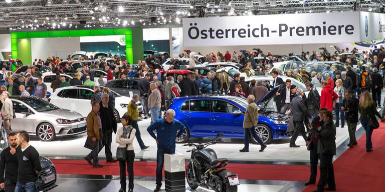Vienna Autoshow 2017: Countdown läuft