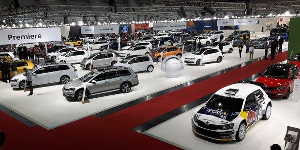 Alle Neuheiten der Vienna Autoshow 2017