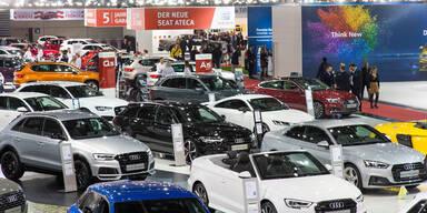 Vienna Autoshow 2017 zieht Massen an