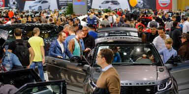 Vienna Autoshow 2018 wurde gestürmt