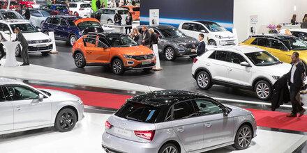 Ansturm auf Vienna Autoshow gestartet