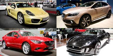 Fotos von der Vienna Autoshow 2013
