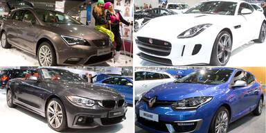 Die Highlights der Vienna Autoshow 2014