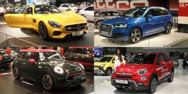 Vienna Autoshow 2015: Alle Neuheiten