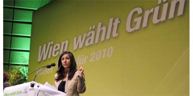 Wien-Wahl: Vassilakou tritt für Grüne an