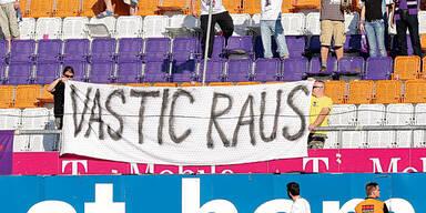 Vastic von Fans noch immer ungeliebt