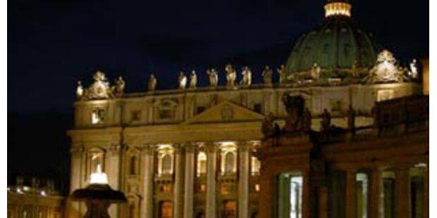 Auch der Papst spart Energie
